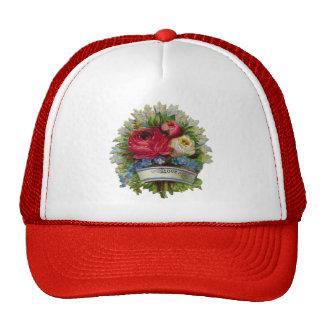 Rosas para la madre gorras