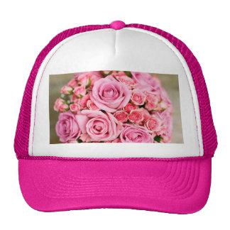 ¡Rosas para la mamá! Gorras De Camionero