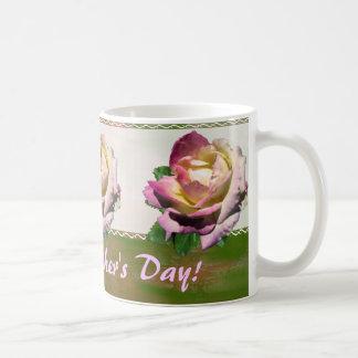Rosas para la taza del día de madre