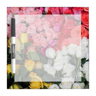 Rosas para la venta, San Miguel de Allende, México Tableros Blancos