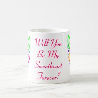 Rosas para siempre taza