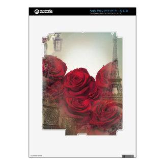 Rosas París del vintage iPad 3 Pegatinas Skins