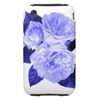 Rosas pasados de moda tough iPhone 3 carcasa