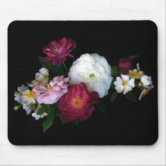 Rosas pasados de moda Mousepad