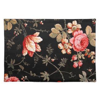 Rosas Placemat del rosa salvaje Mantel Individual