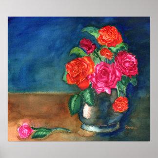 Rosas Póster