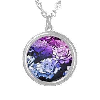 Rosas púrpuras abstractos hermosos