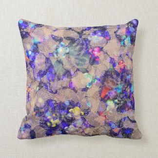 Rosas púrpuras del cordón