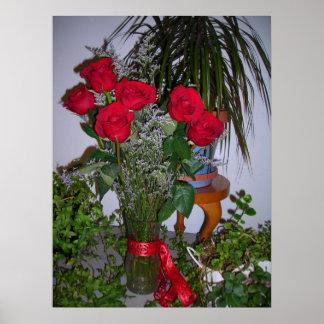 Rosas que pasados para siempre posters