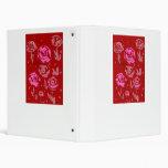 Rosas que pintan el extracto rojo del fondo