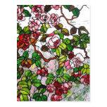 Rosas que suben - vitral