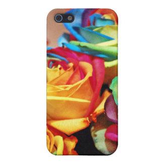 rosas ractive del colourfull iPhone 5 cárcasa