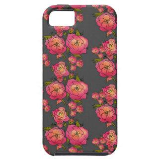 Rosas retros funda para iPhone SE/5/5s