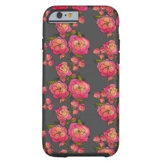 Rosas retros funda resistente iPhone 6