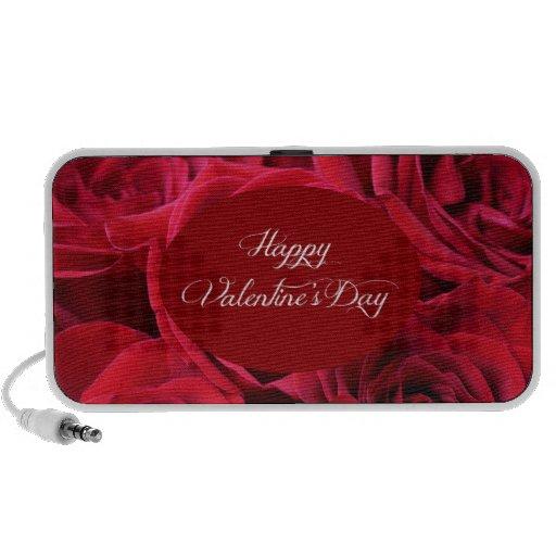 Rosas rojos del el día de San Valentín iPod Altavoz