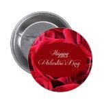 Rosas rojos del el día de San Valentín Pin