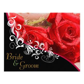 Rosas rojos - el casarse echado a un lado 2 planos