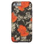 Rosas rojos funda de iPhone 6 tough