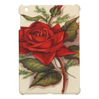 Rosas rojos iPad mini fundas