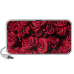Rosas rojos iPod altavoces