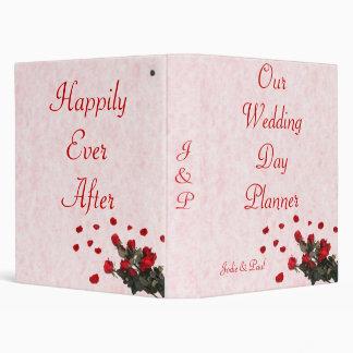 """Rosas rojos - nuestro planificador del día de boda carpeta 1"""""""