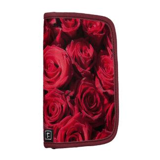 Rosas rojos organizadores