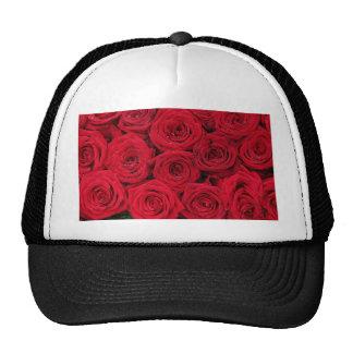 Rosas rojos por Therosegarden Gorras