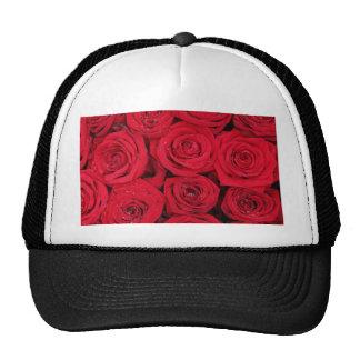 Rosas rojos por Therosegarden Gorros Bordados