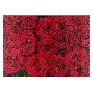 Rosas rojos por Therosegarden Tabla De Cortar