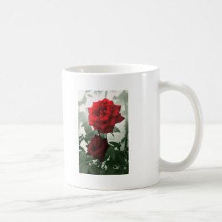 Rosas rojos románticos 1 taza