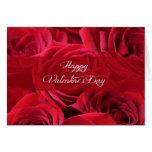 Rosas románticos del el día de San Valentín