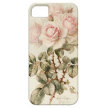 Rosas románticos del Victorian del vintage iPhone 5 Cobertura