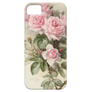 Rosas románticos del Victorian del vintage iPhone 5 Case-Mate Cobertura