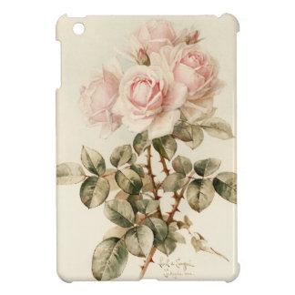 Rosas románticos del Victorian del vintage iPad Mini Fundas