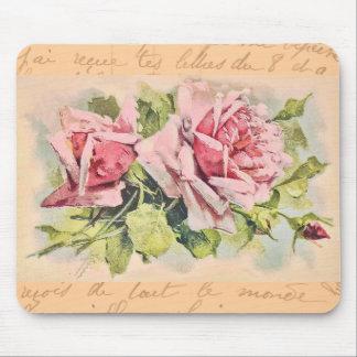 Rosas románticos Mousepad Tapete De Raton