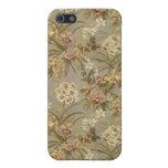 Rosas románticos v8 del vintage iPhone 5 protectores
