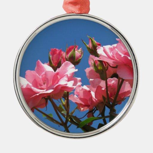 Rosas rosados adorno de reyes