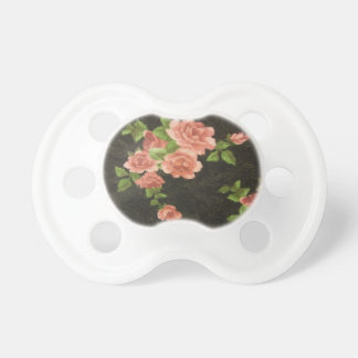 Rosas rosados chupetes de bebe