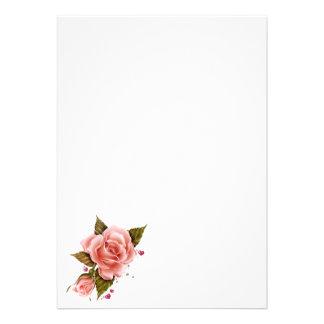 Rosas rosados comunicado personal