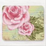 Rosas rosados de Digitaces Tapetes De Ratones