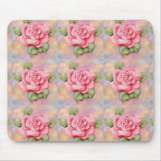 Rosas rosados de Mousepad