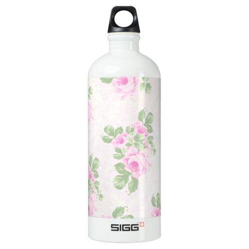 Rosas rosados elegantes florales del vintage