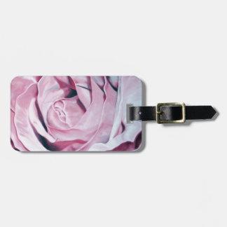 Rosas rosados elegantes románticos del vintage ele etiquetas bolsa