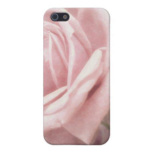 Rosas rosados en el nostálgico de Anzures 2 iPhone 5 Protectores