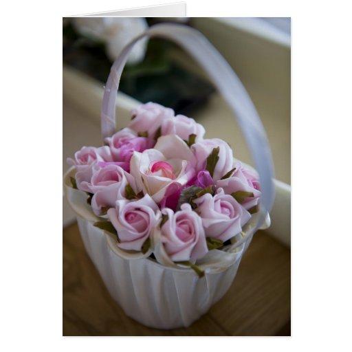 rosas rosados felicitación