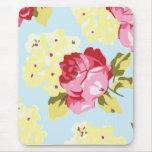 Rosas rosados femeninos Mousepad Alfombrillas De Ratones