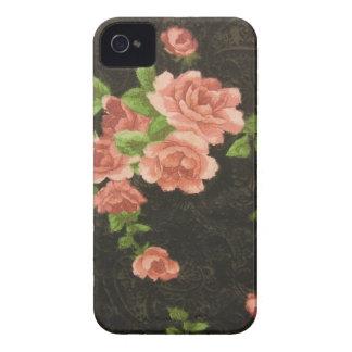 Rosas rosados funda para iPhone 4