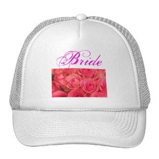 Rosas rosados gorros