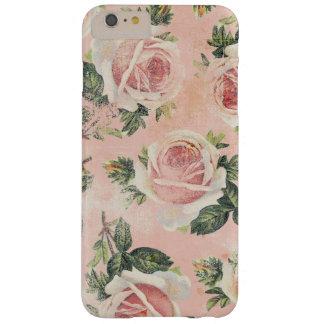 Rosas rosados lamentables funda de iPhone 6 plus barely there