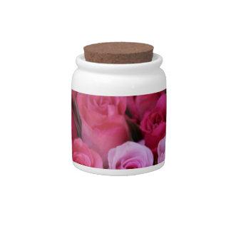 Rosas rosados mezclados por Therosegarden Plato Para Caramelo